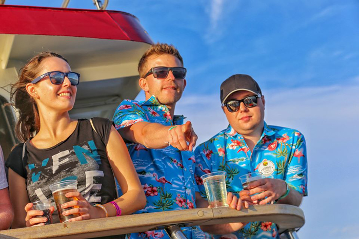 Brass Palmas 2019. - Boat party