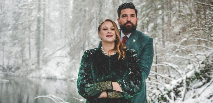 Bajkovita zimska vjenčanja
