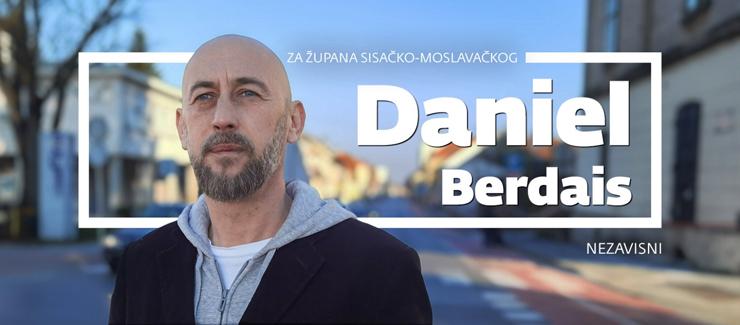 Daniel Berdais predstavio kandidaturu za župana Sisačko-moslavačke županije